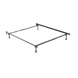 Leggett And PlattSentry Adjustable Bed Frame 79G with Headboard Brackets and (4) 2-Inch Glide Legs, Twin - Full