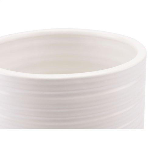 White Tall Vase White