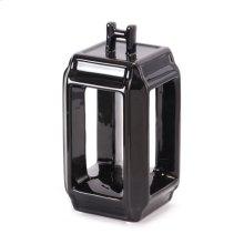Japanese Black Candle Holder Sm Black