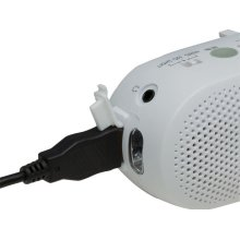 Portable AM/FM Travel / Emergency Radio: RF-TJ10