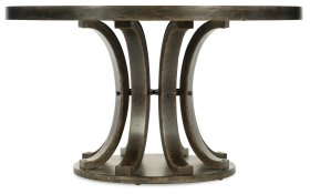 Dining Room Crafted 54in Round Dining Table