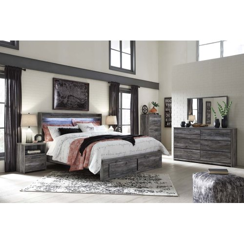 Baystorm - Gray 2 Piece Bedroom Set