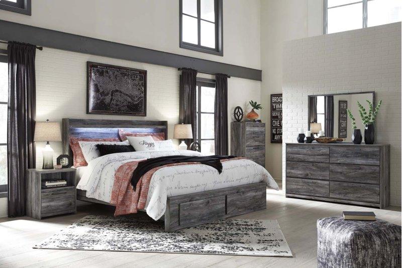 Additional Baystorm Gray 2 Piece Bedroom Set