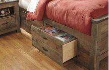 Under Bed Storage w/Side Rail