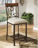Hopstand - Brown Set Of 4 Dining Room Barstools Product Image