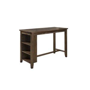 Hillsdale FurnitureSpencer Counter Height Table - Kd - Dark Espresso (wirebrush)