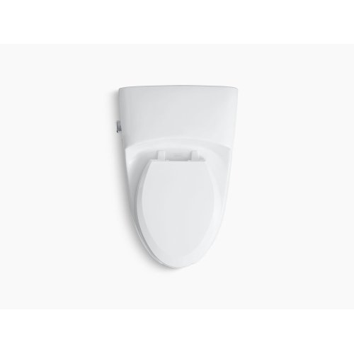 White Comfort Height One-piece Elongated 1.0 Gpf Toilet With Pressure Lite Flushing Technology, Includes Seat
