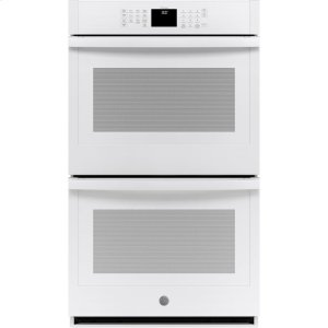 "GE®30"" Smart Built-In Self-Clean Double Wall Oven with Never-Scrub Racks"