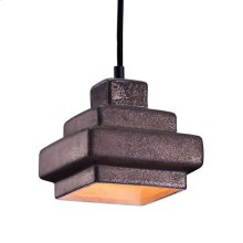 Wellingston Ceiling Lamp Rustic Black
