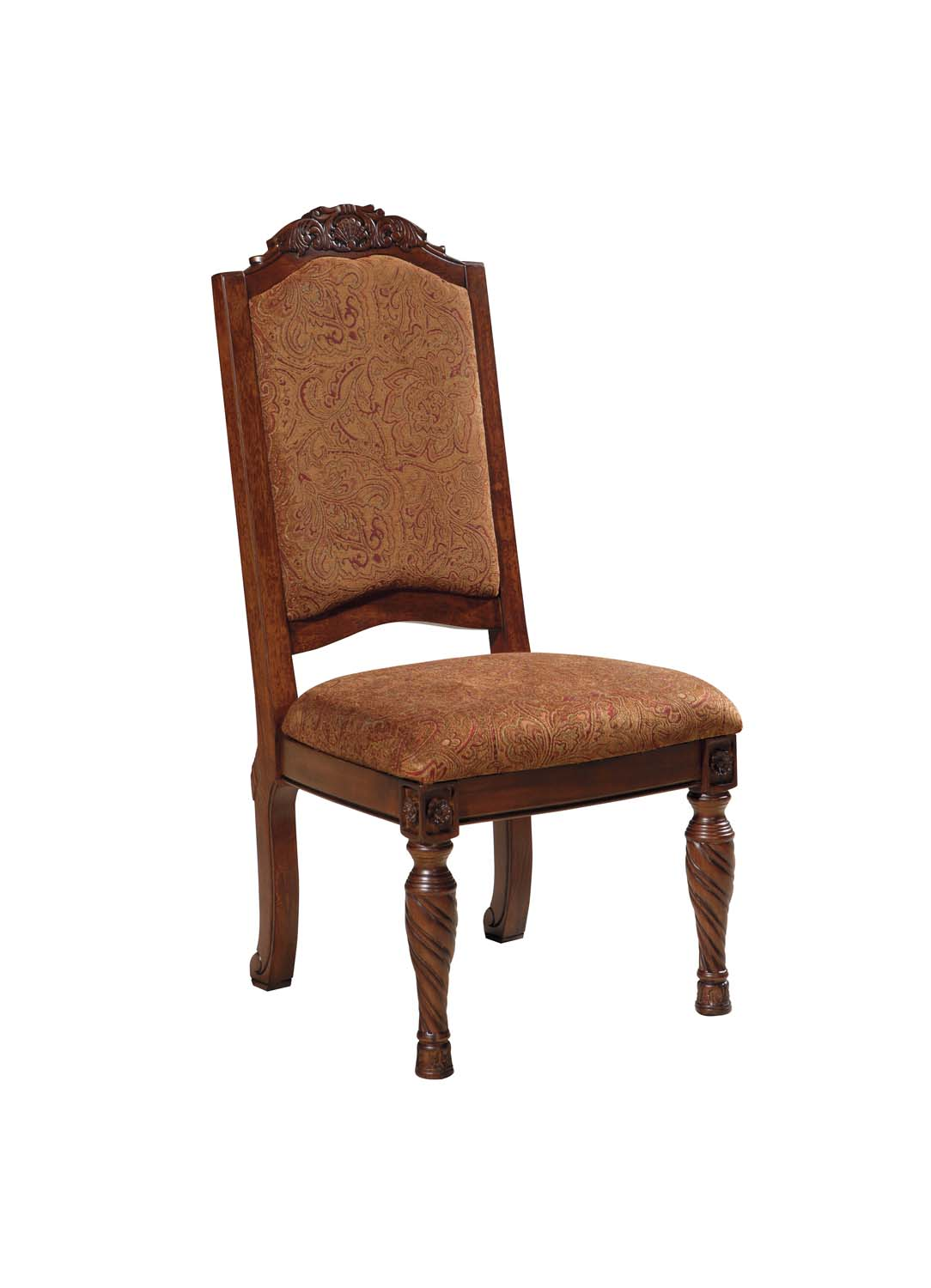 North Shore   Dark Brown Set Of 2 Dining Room Chairs