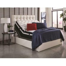 Montclair Casual Black Queen Adjustable Bed Base