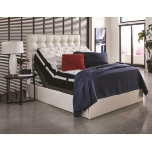 CoasterMontclair Casual Black Queen Adjustable Bed Base