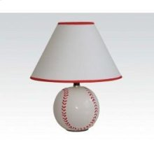 Ceramic Table Lamp Baseball