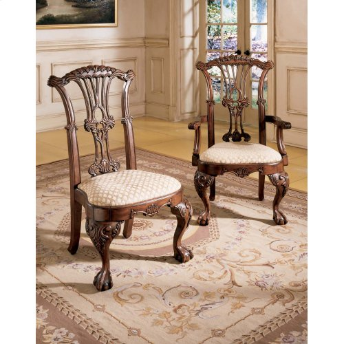 Chairs Ashley Furniture D57601 Dining Uph Side Chair 2 Cn