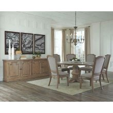 Florence Round Formal Dining Table