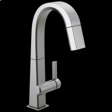 Arctic Stainless Single Handle Pull Down Bar/Prep Faucet
