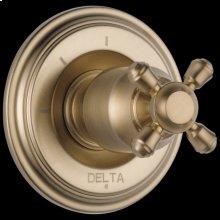 Champagne Bronze 3-Setting 2-Port Diverter Trim - Less Handle