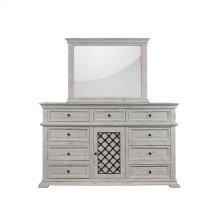Irondale White Dresser