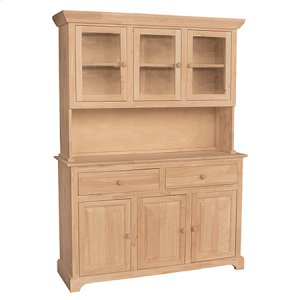 WHITEWOOD INDUSTRIES H-3b 3 Door Hutch (Shown W/b-3)