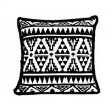 Yoruba Patterned Cushion- Small
