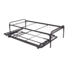 39-Inch Link Spring 48/351/66 Free Standing Top Spring with (2) Square Tubular Arms and Pop-Up Trundle