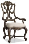 Dining Room Rhapsody Wood Back Arm Chair