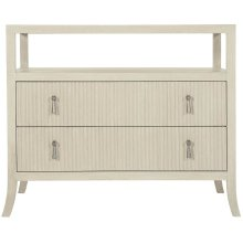 East Hampton Bachelor's Chest in Cerused Linen (395)