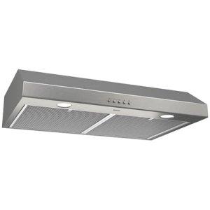 BroanGlacier 30-Inch 300 CFM Stainless Steel Range Hood with LED light