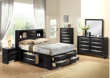 Ireland Black Eastern King Bed
