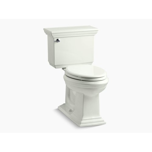 Dune Comfort Height Two-piece Elongated 1.28 Gpf Toilet With Aquapiston Flushing Technology and Left-hand Trip Lever, Seat Not Included