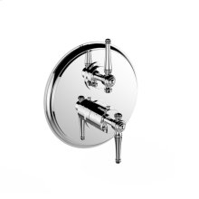 """7097kl-tm-kla - 1/2"""" Thermostatic Trim With Volume Control and 2-way Diverter in Polished Chrome"""