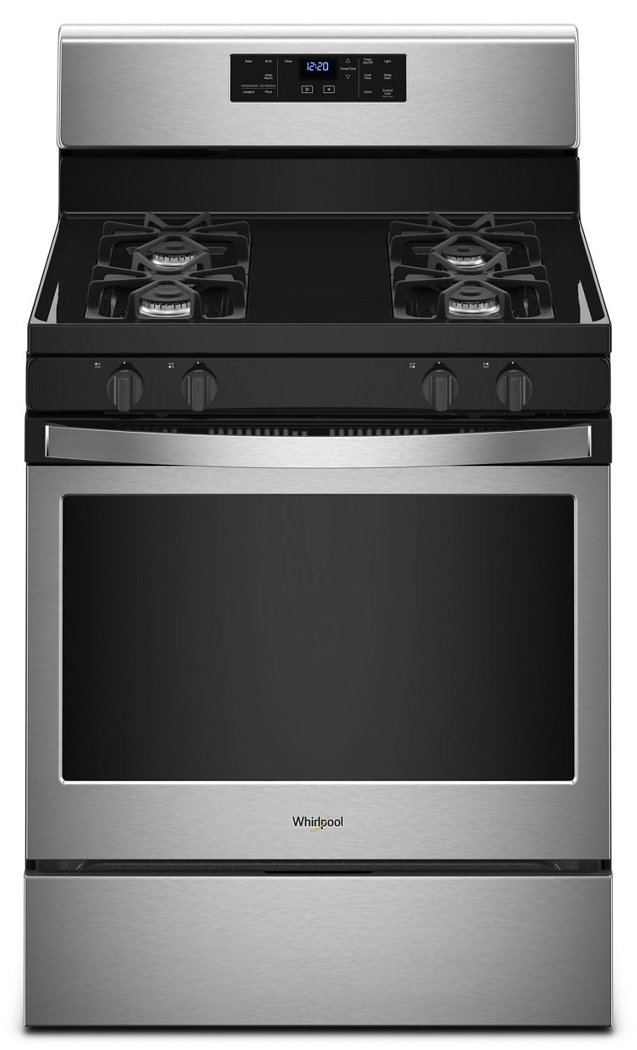 Whirlpool5.0 Cu. Ft. Freestanding Gas Range With Adjustable Self-Cleaning Stainless Steel