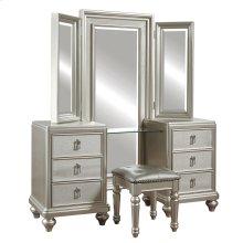 Diva Vanity Tri-View Mirror