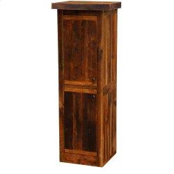 """Barnwood Linen Cabinet - 30"""" Width (2 Double Doors)"""