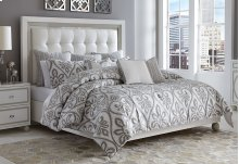 10pc King Comforter Set Gray