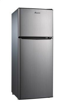 Dual Door Mini Refrigerator