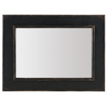 Bedroom Ciao Bella Landscape Mirror- Black