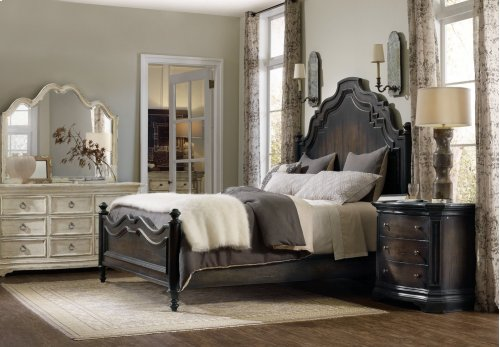 Bedroom Auberose California King Panel Bed