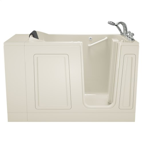 Acrylic Luxury Series 30x51 Walk-in Tub With Air Spa Right Drain  American Standard - Linen