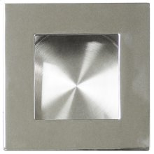 Square Pocket/Cup Pull w/Square Opening, US32