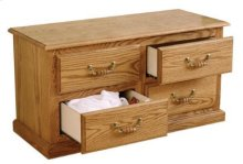 8000-bed Chest With 4 Drawers