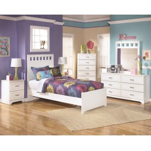AshleySIGNATURE DESIGN BY ASHLEYLulu - White 3 Piece Bed Set (Twin)