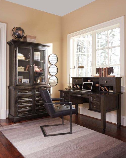 Home Office Desk Hutch