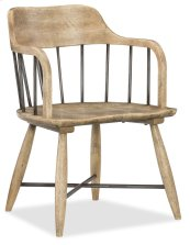 Dining Room Urban Elevation Low Windsor Arm Chair