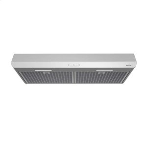 BroanSahale 30-inch 300 CFM Stainless Range Hood with LED light, ENERGY STAR® certified