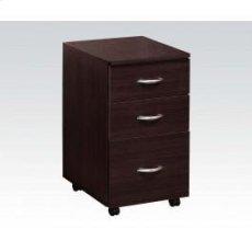 Espresso File Cabinet Product Image