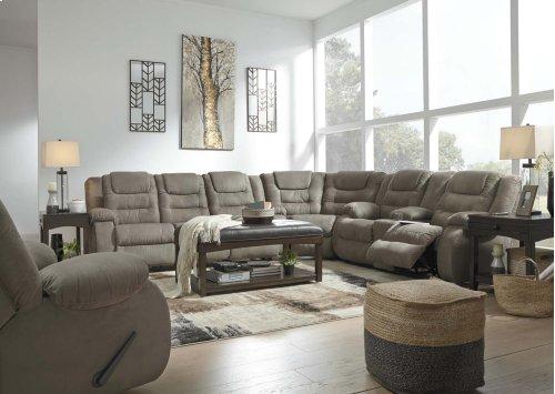 Segburg - Cobblestone 3 Piece Sectional