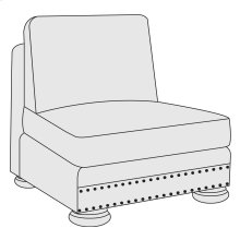 Foster Armless Chair in Molasses (780)