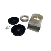 Recirculation Kit for model Hoods KU PRO/14, CON/14 Stainless Steel