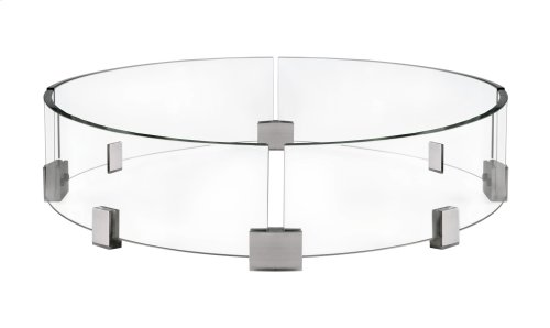Napoleon Wind Screen for Round Kensington Patioflame® Table.